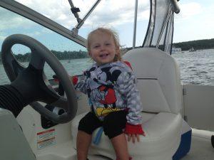 child-boat